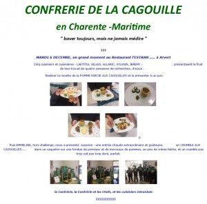 CONFRERIE DE LA CAGOUILLE en Charente-Maritime