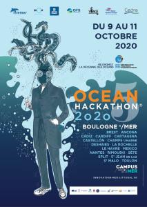 OCEAN HACKATHON 2020 à La Rochelle, participation d'Atelier des Gens de Mer du 09 au 11 octobre 2020